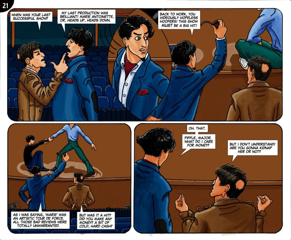 Page 21. Hopeless hoofers