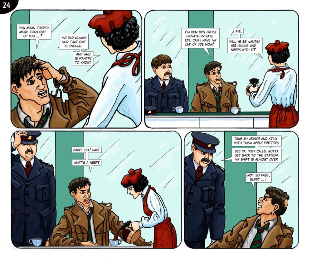Page 24. Barf! Eck! Gag!