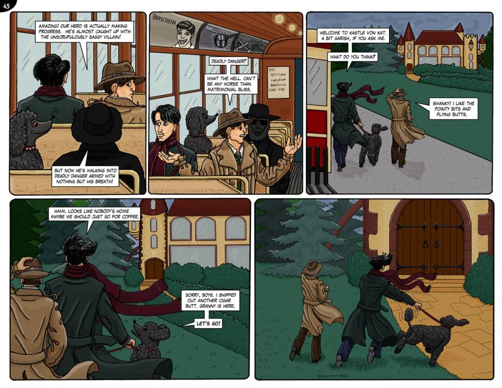 Page 44. Kastle Von Kat